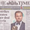 The Times 15 Feb 2016 Cover